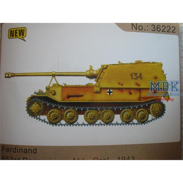 Ferdinand 653. Panzerjäger Abt. , Orel 1943