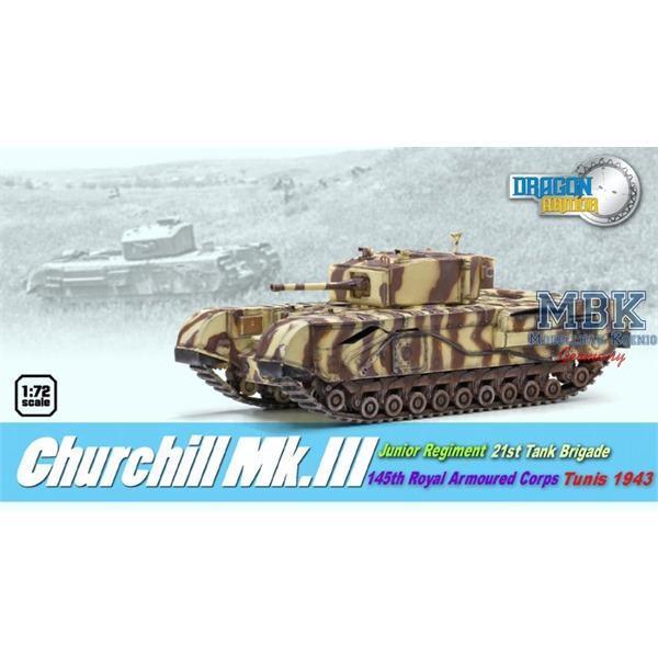Churchill Mk.III, Junior Rgt., 21.Tank Brig., 1943