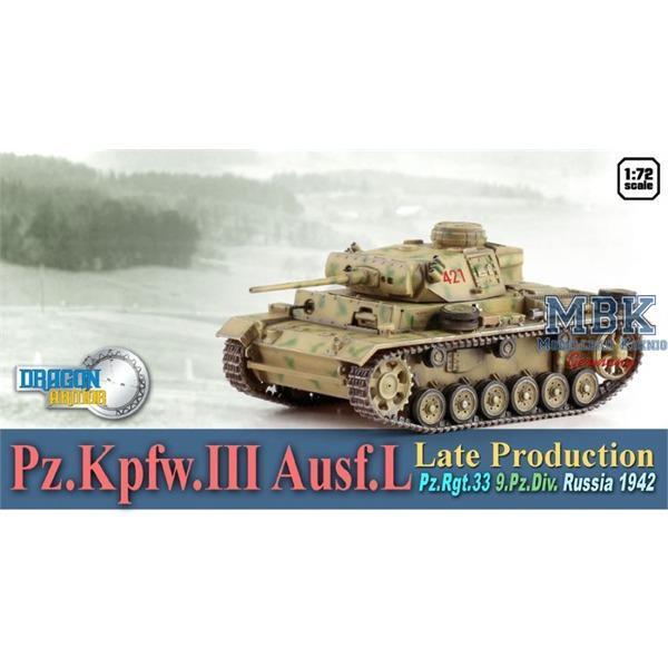 Panzer III Ausf.L late, Pz.Rgt.33, Russia 1942