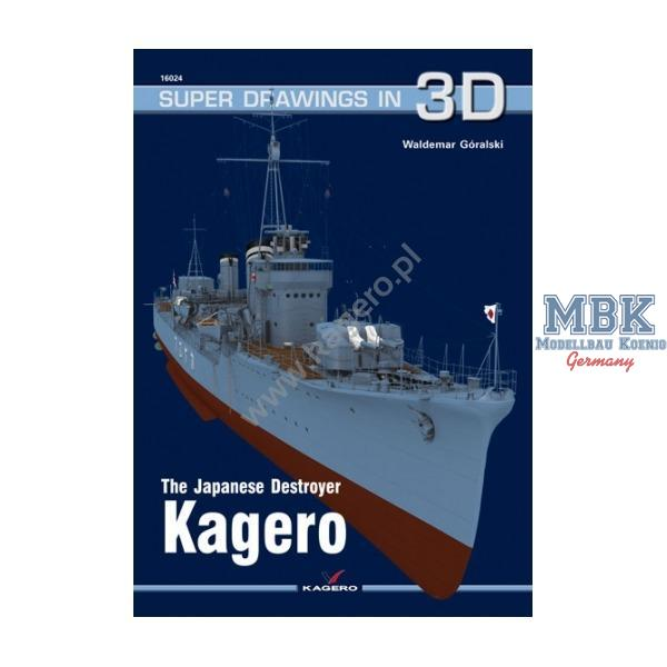 Kagero Super Drawings in 3D 19: Admiral Graf Spee