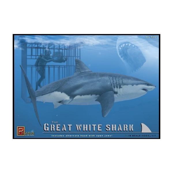 der wei e hai taucher great white shark diver. Black Bedroom Furniture Sets. Home Design Ideas