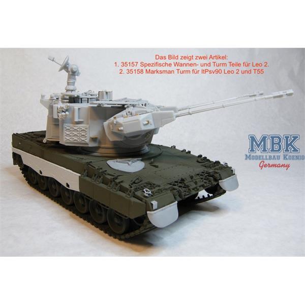 leopard 2 marksman itpsv 90. Black Bedroom Furniture Sets. Home Design Ideas