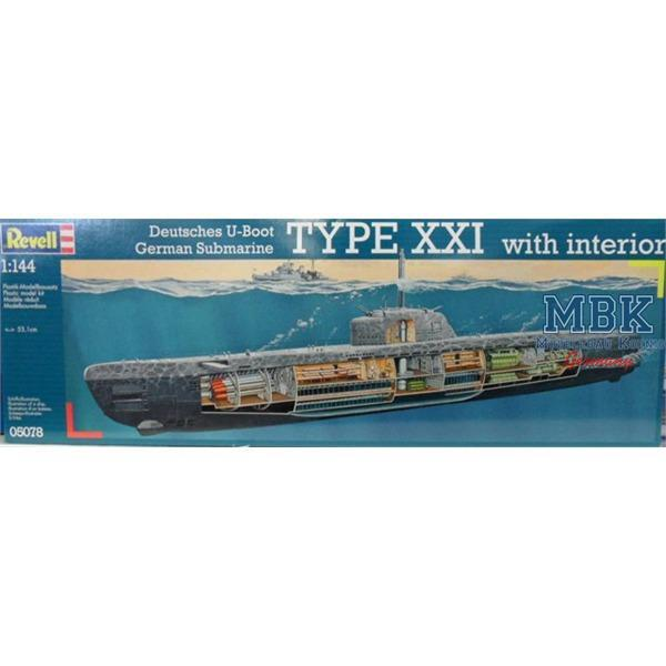 Deutsches u boot typ xxi mit interieur for Deutsches u boot typ xxi mit interieur