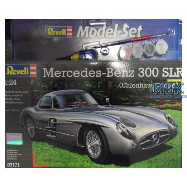 mercedes benz 300 slr uhlenhaut coupe modell set. Black Bedroom Furniture Sets. Home Design Ideas