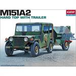M151 A2 with Trailer
