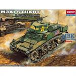 M3 A1 Stuart light Tank