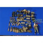 105 Howitzer Vietnam Ammo-Crew-Gear