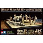Diorama-Set PaK 36(r) Nordafrika