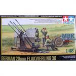 20 mm Flakvierling 38 +Crew