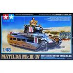 Matilda Mk.III/IV British Infantry