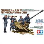 3,7cm FLAK 37 Anti-Aircraft Gun w/Crew