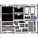 Sd.Kfz. 7  Werkzeugkisten (Tamiya)