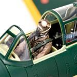 Shinden sitting Pilot Figure