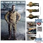 US Tanker 2nd Armored Div 1945