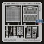 CMP Chevrolet/Ford Canada Grill  (Italeri) - ZOOM
