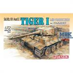 Tiger I (Mid Production) w/Zimmerit
