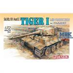 Tiger I (Mid Production) w/Zimmerit
