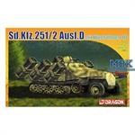 Sd.Kfz.251 Ausf. D mit Wurfrahmen 40