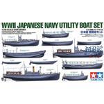 Jap. Versorgungsboote WWII