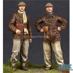 WW2 French Tank Crew Set (2 Figuren)