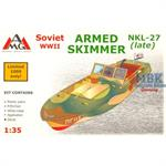 NKL-27 armed soviet speed boat WWII
