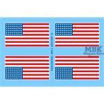 U.S. 48 Sterne Flagge