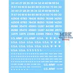 U.S. Fahrzeugregistriercodes, unschablonier