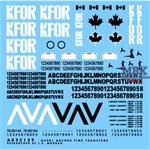 Kanadische KFOR Markierungen