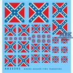 Kriegsflagge konföderierte U.S. Staaten