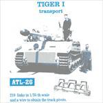 Tiger I Transportketten