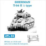 Sherman T-56 E 1 type Kette