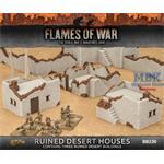 Flames Of War: Ruined Desert Houses