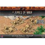 Flames Of War: 25 pdr Field Troop