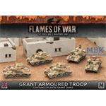 Flames Of War: Grant Armoured Troop