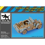 M 3 Scout car accessories set