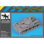 Panzer IV F1 accessories Set