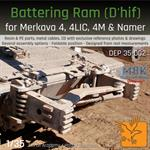 Battering Ram D´hif for Merkava 4,4LIC,4M & Namer