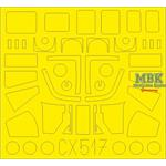 Sea King HAR.3 / Mk.43  1/72  Masking Tape