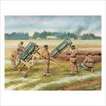 German Rocket Launcher w/Crew