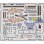 F-104 C1 seatbelts
