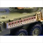 M-1128 MGS mounted rack and belts (AFV-Club)