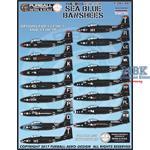 Colorful Sea Blue Banshees
