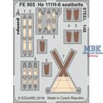 He 111H-6 seatbelts STEEL 1/48