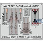 Su-35S seatbelts STEEL 1/48