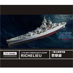 WW II   French Battleship Richelieu