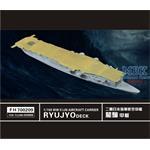 WW II  IJN Aircraft Carrier Ryujo Deck