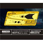 WW II  IJN Heavy Cruiser Maya Metal Deck