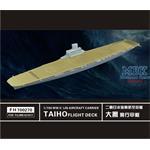 WW II  IJN Aircraft Carrier Taiho Flight Deck