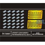 Liferaft Containers I for Modern Royal Navy