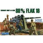 German Army A/A Gun 88mm Flak 18  WA26  1/76